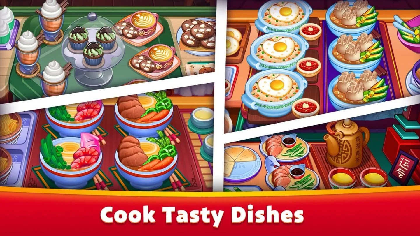 Asian Cooking Star MOD by APKMODY 1440x810