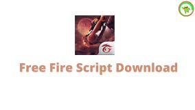 free fire script