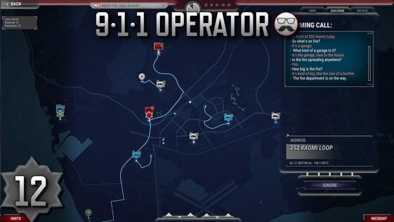 Screenshot of 911 Operator