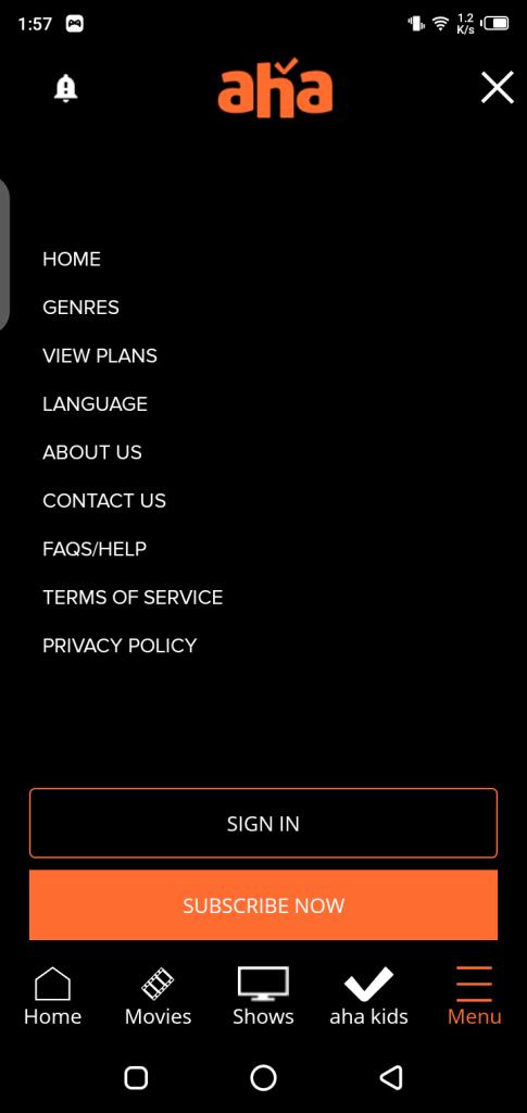 Screenshot of Aha Mod Apk