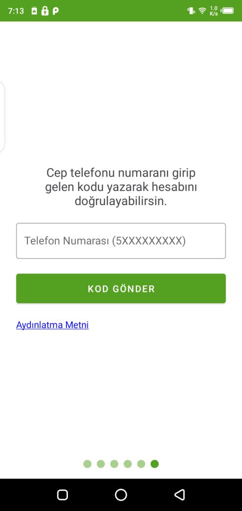 Screenshot of Hayat Eve Sığar App
