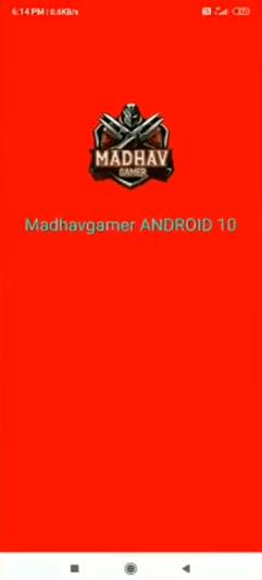 Screenshot of Madhav Gamer VIP