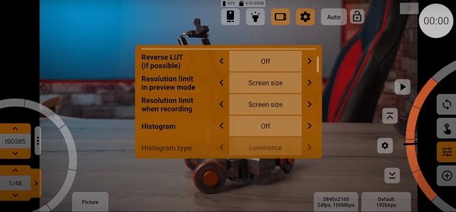 Screenshot of Mcpro24fps