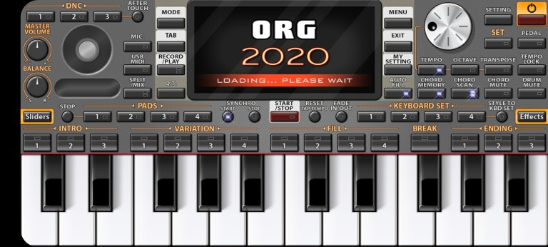 Screenshot of ORG 2017