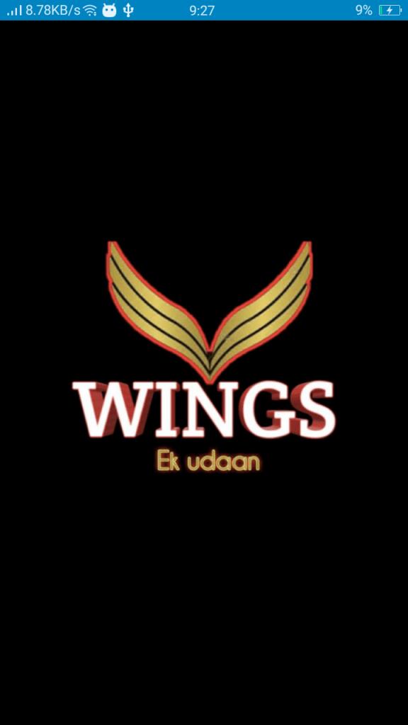 Screenshot of Wings Ek Udaan App
