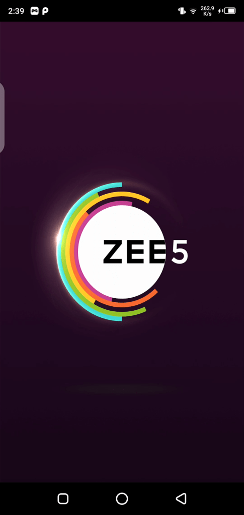 Screenshot of Zee5 Hipi App