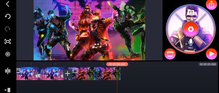 Screenshot of Free Fire KINEMASTER