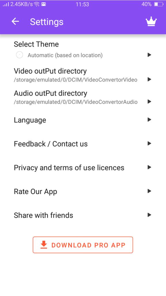 Screenshot of Nxxxa Ace Video Converter