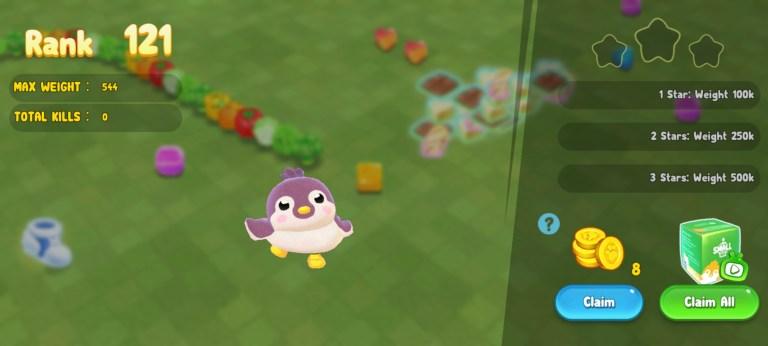 Screenshot of Sweet Crossing Snake io