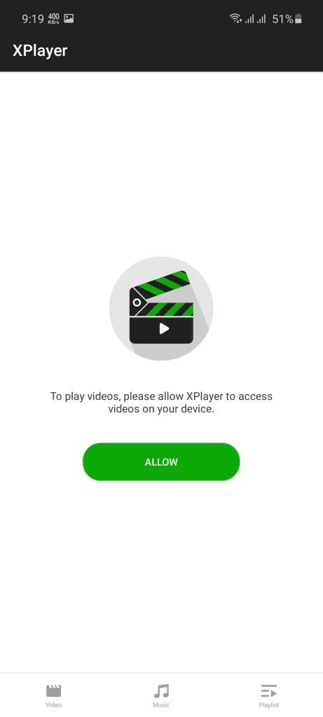 Screenshot of Xplayer Pro