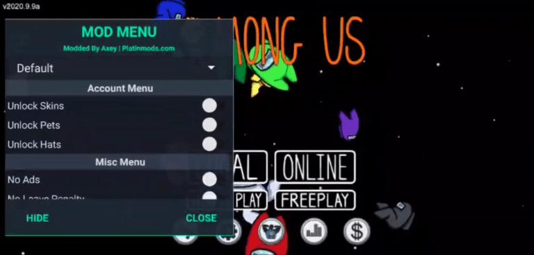Screenshot of Among Us Naruto Apk