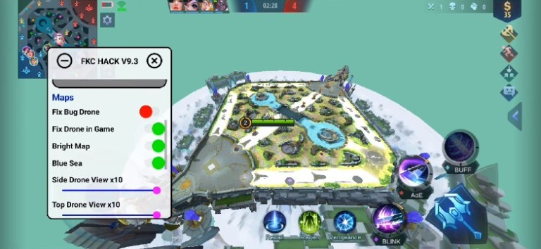 Screenshot of FKC ML App