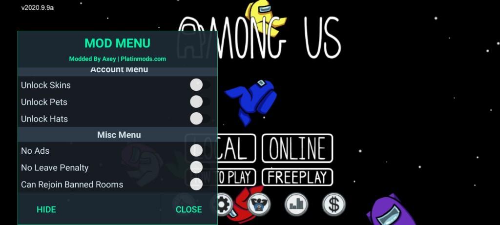 Screenshot of Among Us Signed Mod