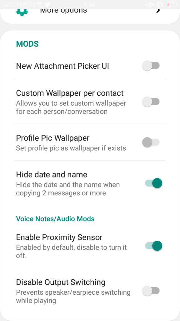 Screenshot of OG WhatsApp Pro Download