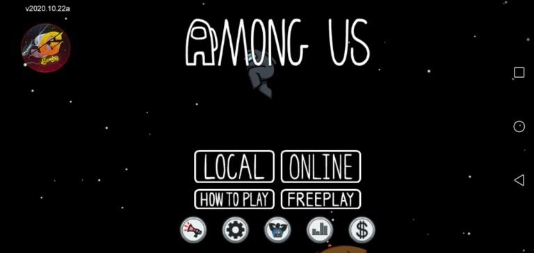 Screenshot of Sami Gaming Among Us