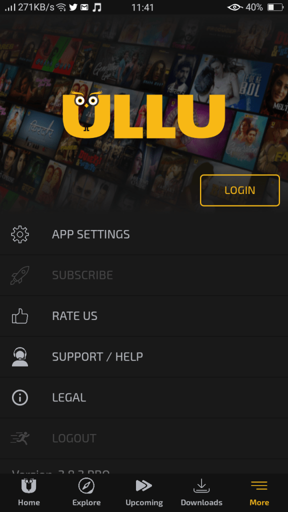 Screenshot of Ullu Pro For Android