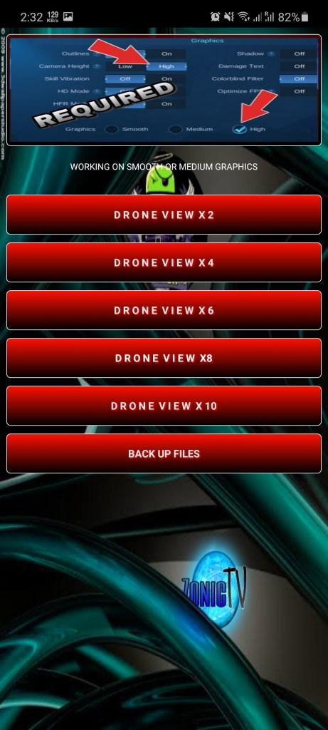 Screenshot of Zonic TV Injector