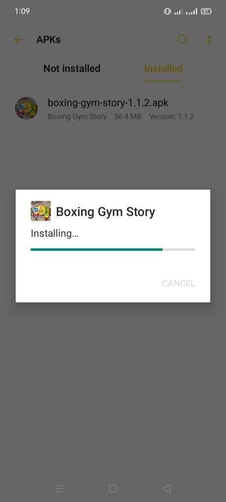 Screenshots of Boxing Gym Story Mod Apk