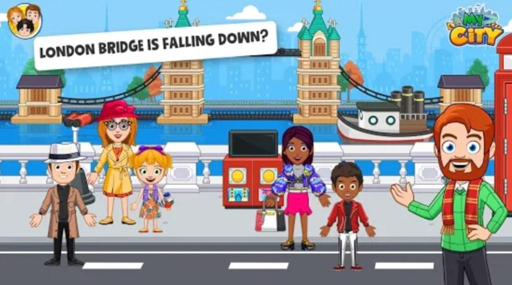 Screenshot of My City London App