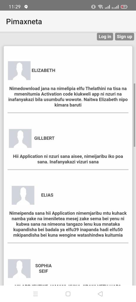 Screenshot of Pimaxneta Apk Download