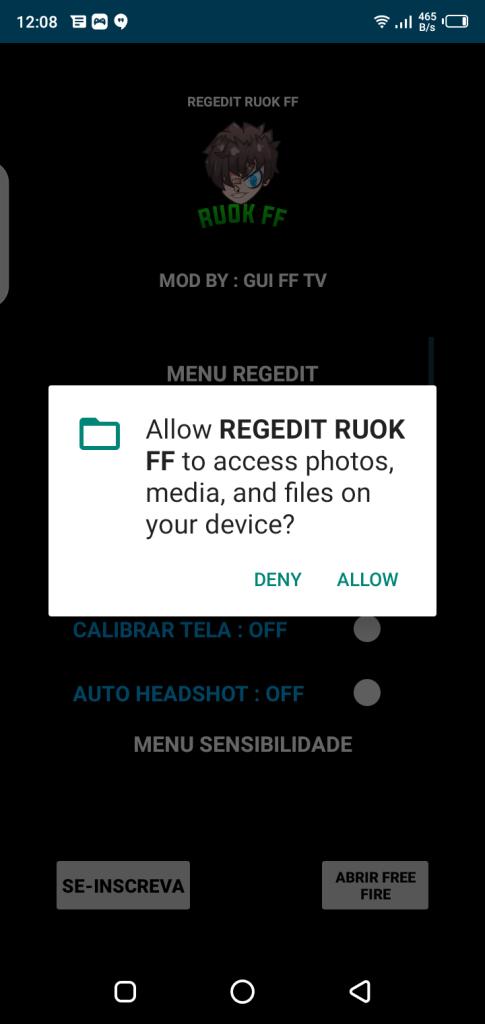 Screenshot of REGEDIT Macro