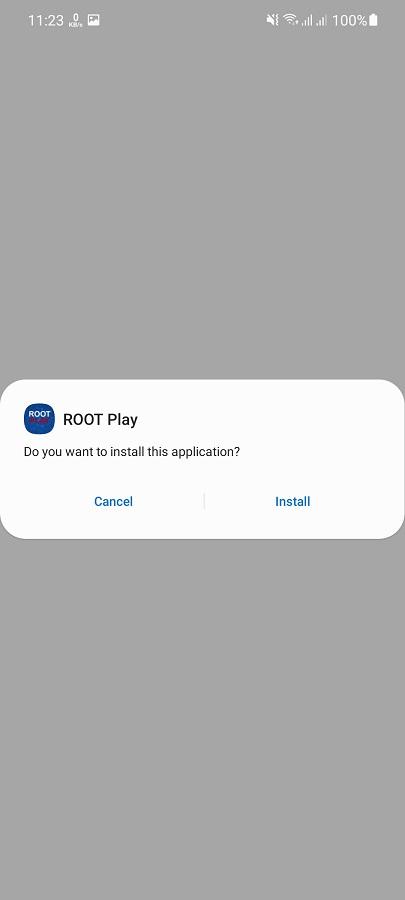 Screeenshot of Root Play Apk