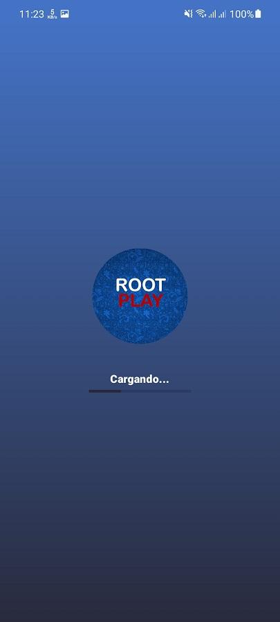 Screeenshot of Root Play App