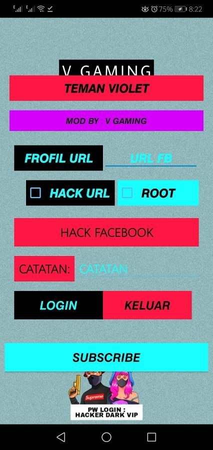 Screenshot of Hacker Dark VIP By Config Gaming Apk Download