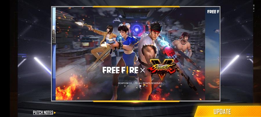 Screenshot of Free Fire Max 4.0 Apk