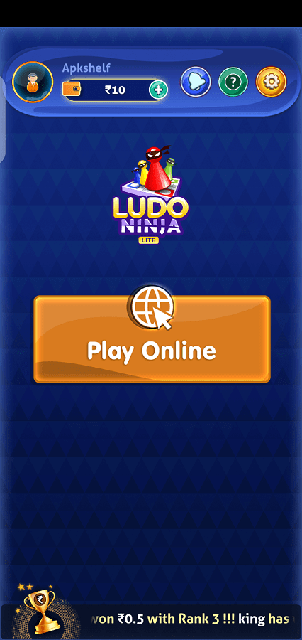 Screenshot of Ludo Ninja Lite