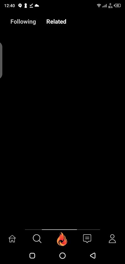 Screenshot of Fire Video App