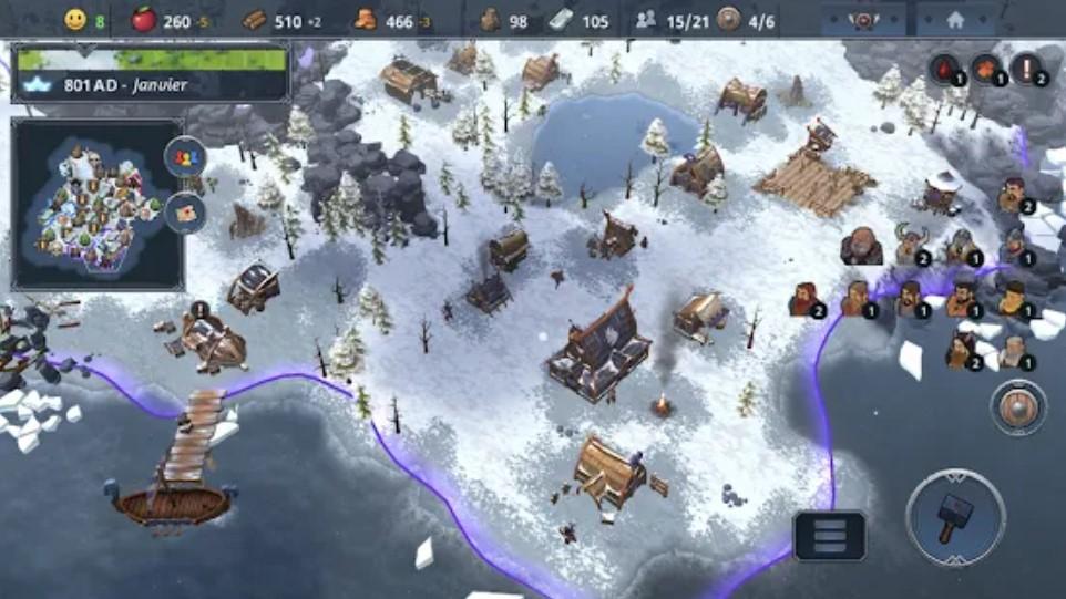 Screenshot of Northgard Android