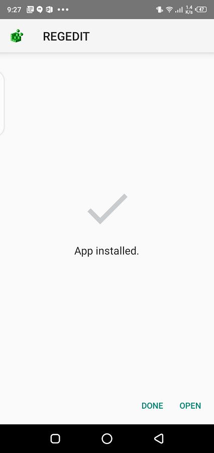 Screenshot of Injector Shanks App