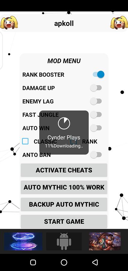 Screenshot of Mod Menu Rank Booster Apk