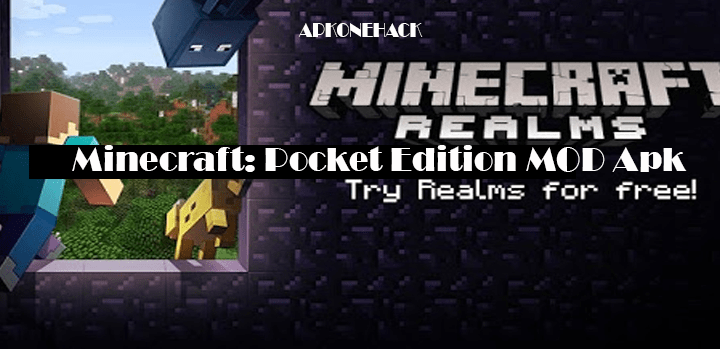 Minecraft: Pocket Edition Apk + MOD [Unlocked All Skins] v1.7.0.7 Android Download by Mojang