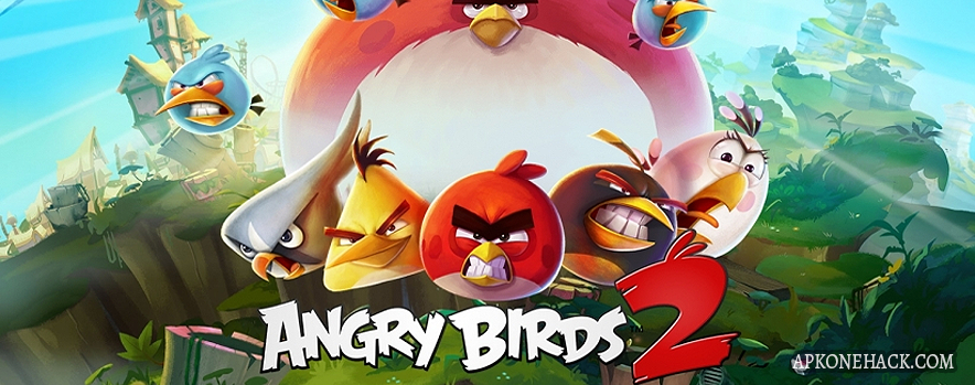 Angry Birds 2 MOD Apk + OBB Data [Mega Hacks] 2.22.1 Android Download by Rovio Entertainment Ltd.