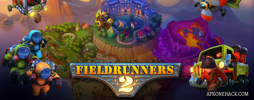 Fieldrunners 2 MOD Apk + OBB Data [Free Purchases] 1.3 Android Download by Subatomic Studios, LLC