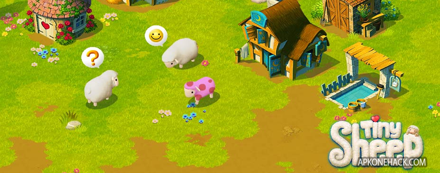 Tiny Sheep Mod Apk [Unlimited Wool Wood & Cash] v1.0.4 Android Mindstorm Studios