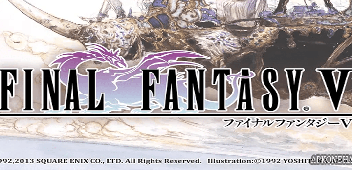 FINAL FANTASY V MOD Apk + OBB Data [Unlimited Gil] v1.2.2 Android SQUARE ENIX Co.,Ltd.