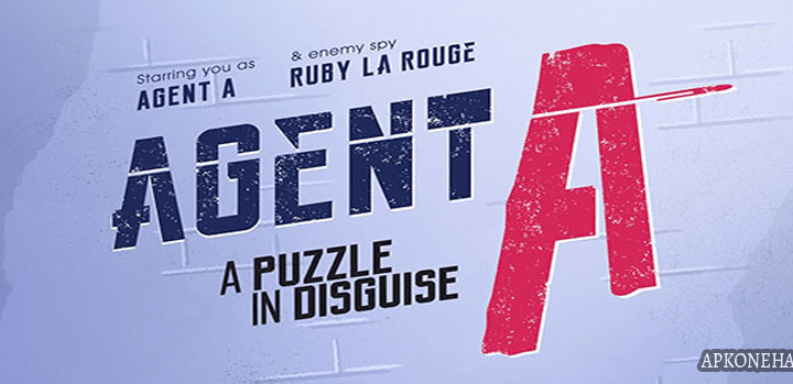 Agent A: A puzzle in disguise Apk + OBB Data [Full Paid] v4.1.4 Android Download by Yak & Co