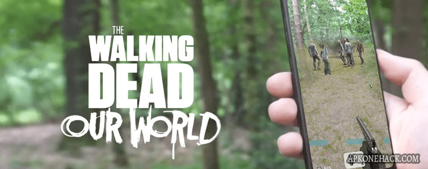 The Walking Dead Our World mod apk high damage android