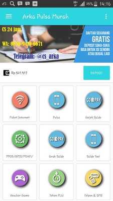 Generator Voucher Pulsa 3 Gratis : generator, voucher, pulsa, gratis, Pulsa, Paker, Murah, ApkOnline