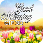 good morning 3d gif