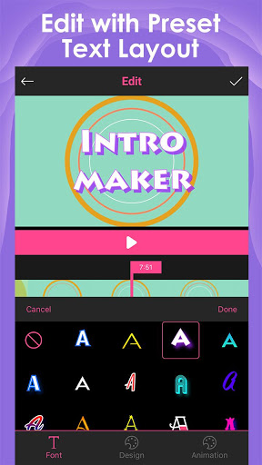 Intro Maker for YouTube – music intro video editor 2.1.6 screenshots 2