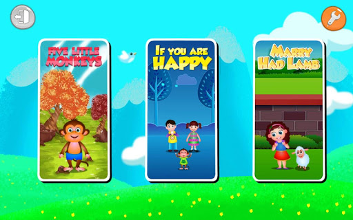Kids Top Nursery Rhymes Videos – Offline Learning FiveLittle_v5.5 screenshots 2
