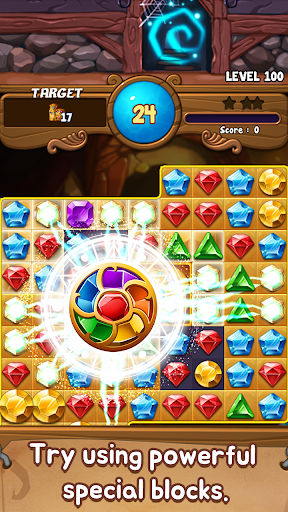 Jewels Time Endless match 2.0.4 screenshots 1