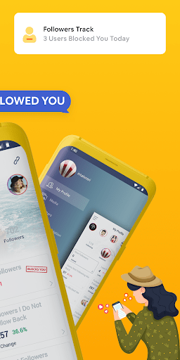 Followers amp Likes Tracker for Instagram – Repost 2.0.1 screenshots 2