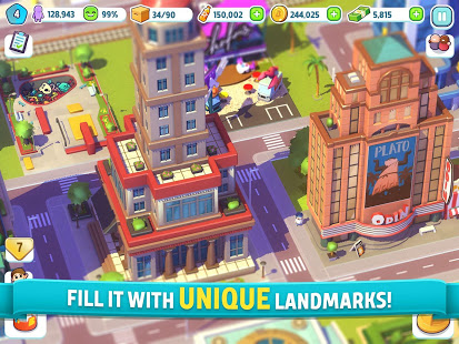 City Mania: Town Building Game 1.9.1a