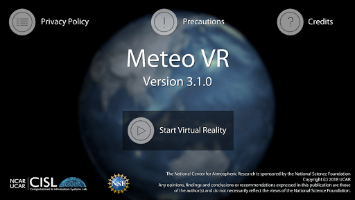 Meteo VR 3.2.2 screenshots 1