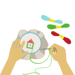 Download Hand embroidery التطريز اليدوي 1.0 APK For Android